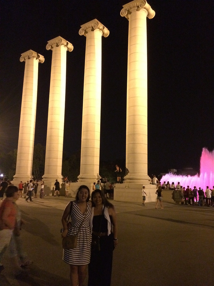 Back down to the columns.